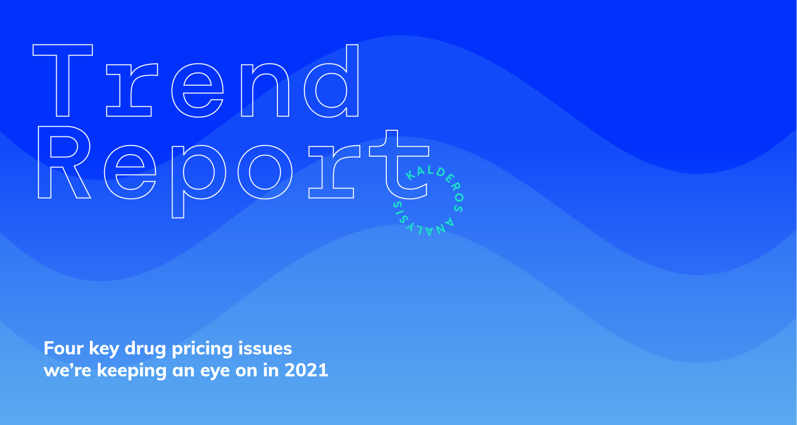 2021 Drug Pricing Trend Report Cover