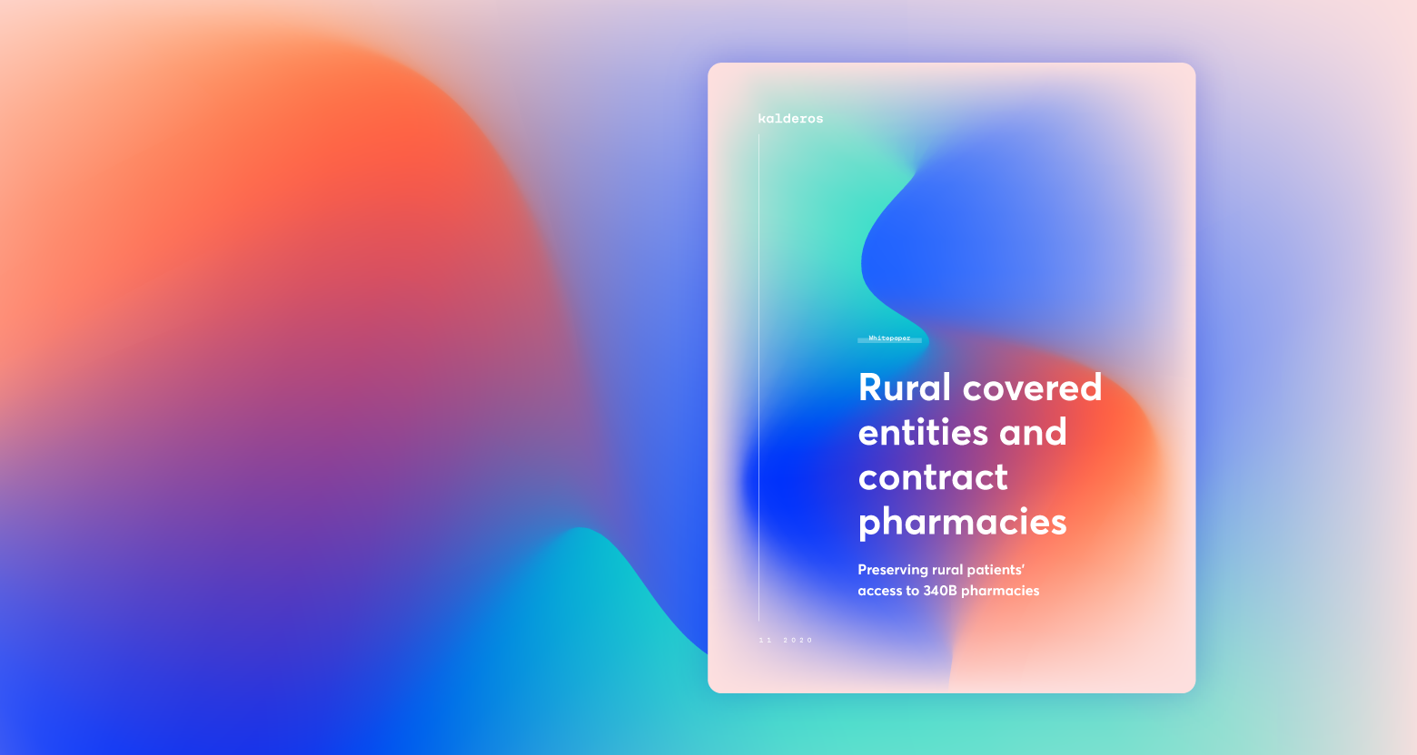 Rural Covered Entities and Contract Pharmacies whitepaper cover